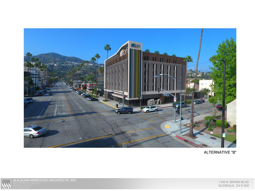 Aloft hotel alternative b small glendale coalition for for Hotel alternatives